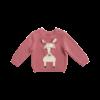 Stella McCartney Kids Horse Jumper Baby Pink