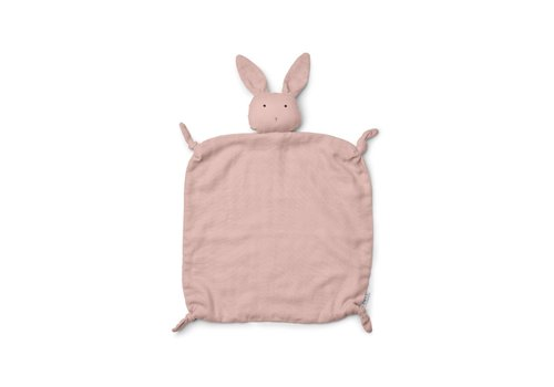 Liewood Agnete Cuddle Cloth - Rabbit rose
