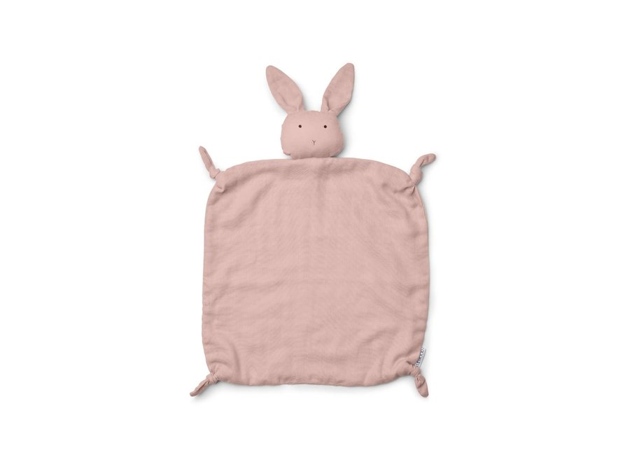 Agnete Cuddle Cloth - Rabbit rose