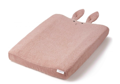 Liewood Egon Changing Mat Cover - Rabbit rose