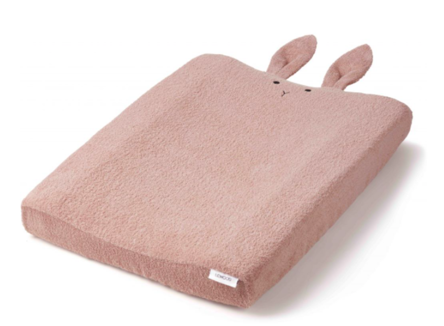 Egon Changing Mat Cover - Rabbit rose