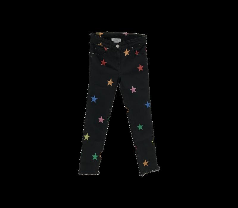 Glitter Stars Denim Trs Multicol G