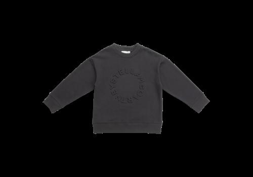 Stella McCartney Kids Sweat W/Embossed Circle Logo Ash Grey