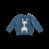 Stella McCartney Kids Horse Jumper Baby Blue