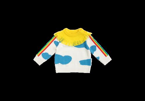 Stella McCartney Kids Baby Weather Jumper Pure White