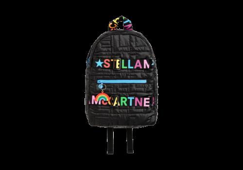 Stella McCartney Kids Icon Backpack W/Embossed Stars Black