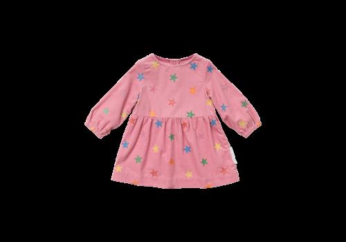 Stella McCartney Kids Glitter Stars Corduroy Dress Multicol G