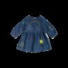 Stella McCartney Kids Chambray Dress W/Weather Emb Denim