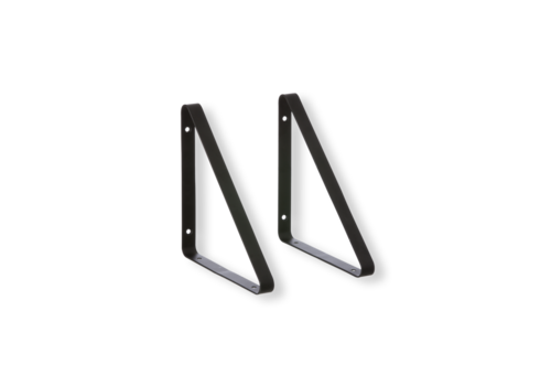Ferm Living Shelf Hangers Black (set of 2)