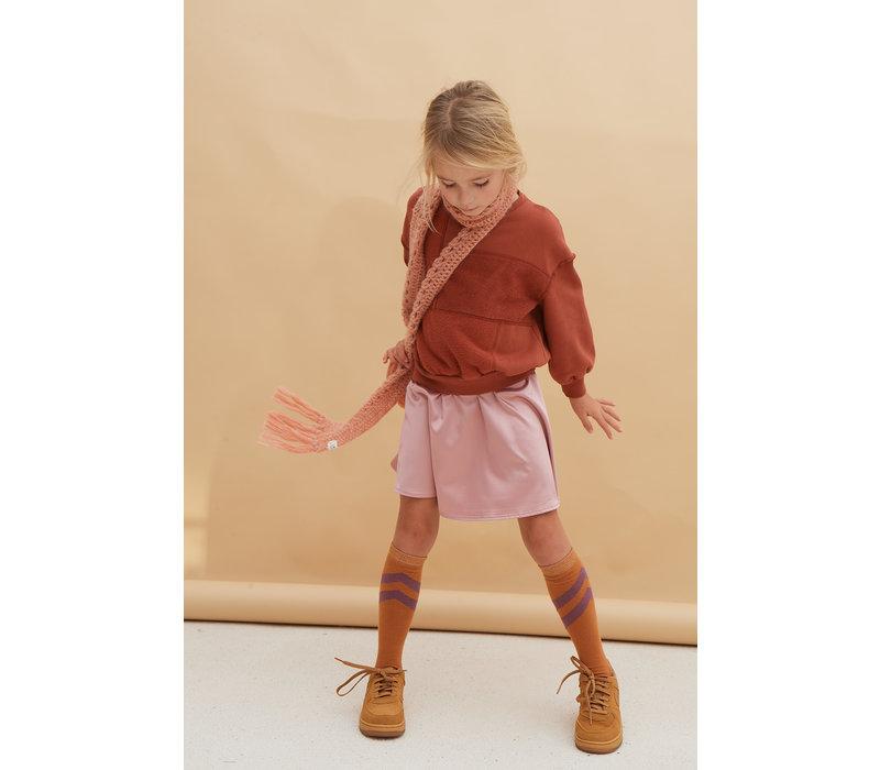 flared satin skirt  ballerina