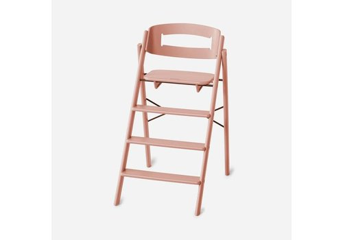 KAOS Foldable high chair (incl. safety rail) - Pale Coral