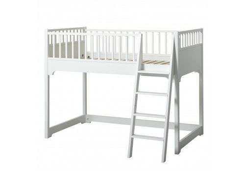 Oliver Furniture SEASIDE JUNIOR LOW LOFT BED