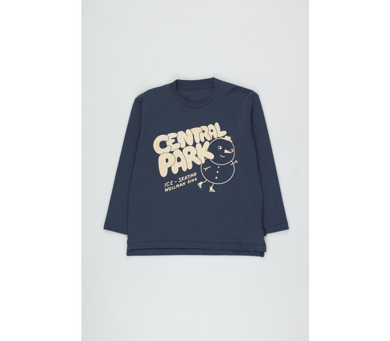 Central Park Tee light navy/cream