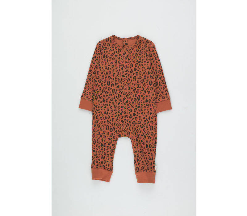 Animal Print One-Piece sienna/dark brown