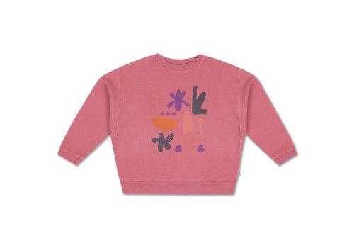 Repose AMS Crewneck Sweater Hot Flamingo