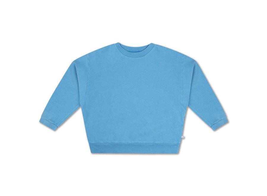 Crewneck Sweater Bright Sky Blue