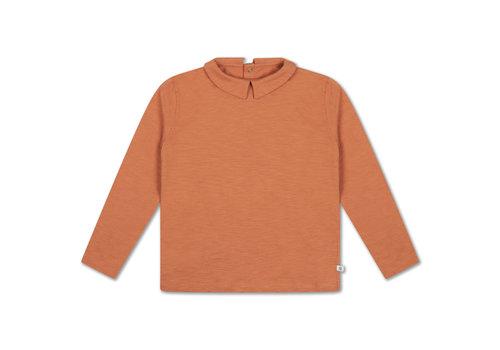 Repose AMS T Shirt With Collar Burnt Autumn