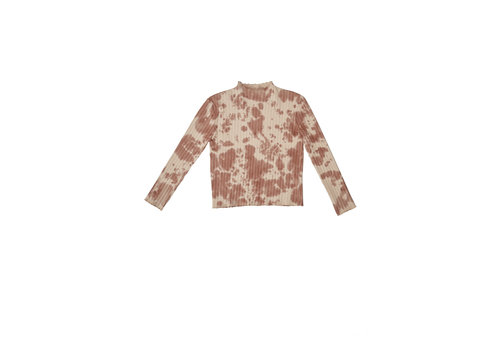 The campamento Tie Dye Tshirt Brown