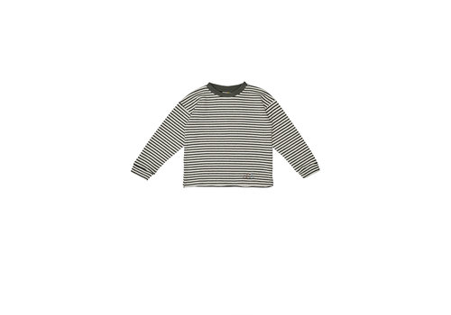 The campamento Striped Tshirt White