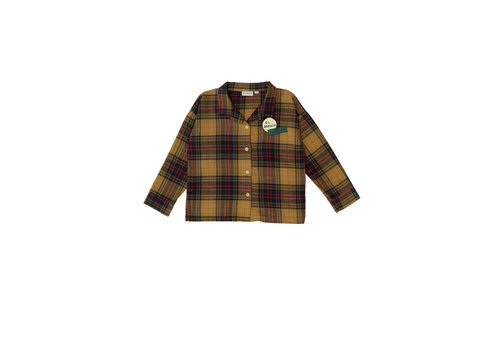 The campamento Checked Shirt Yellow