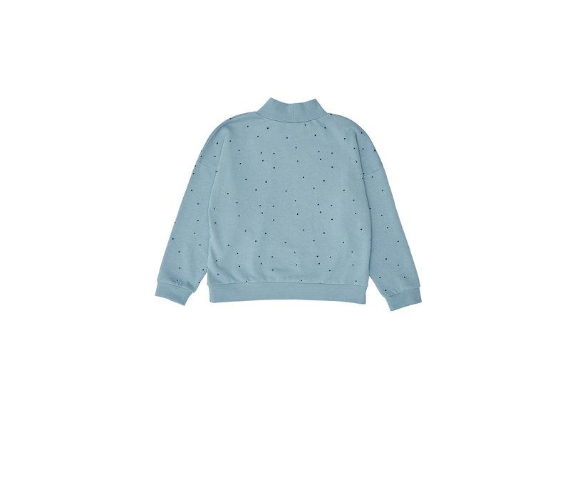 Dots Sweatshirt Blue
