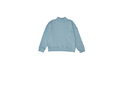 The campamento Dots Sweatshirt Blue