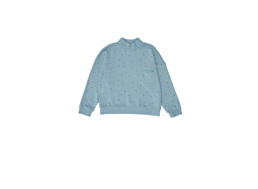 Dots Sweatshirt Blue