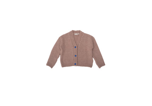 The campamento Knitted Jacquet Pink