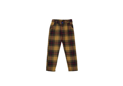 The campamento Checked Trousers Yellow