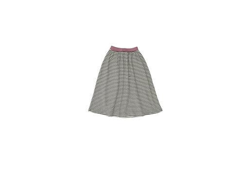 The campamento Striped Skirt White