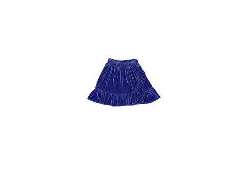 The campamento Velvet Skirt Blue