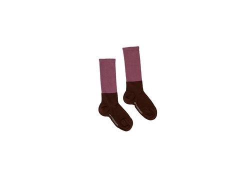 The campamento Bicolor Socks Brown