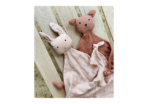 Liewood Yoko mini cuddle cloth 2-pack  Rose mix