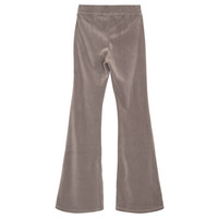 Frances Flare Velour jersey flared pants Taupe