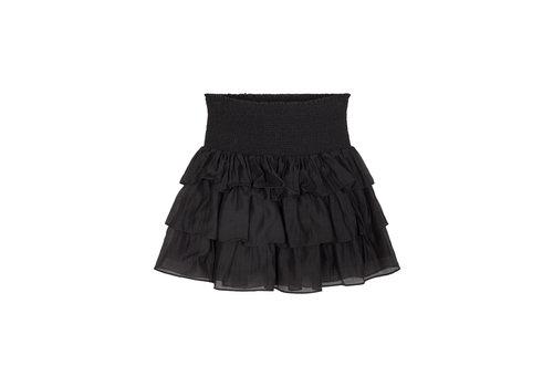 Designers Remix Girls Sonia Skirt Ruffled skirt with elastic smock Black