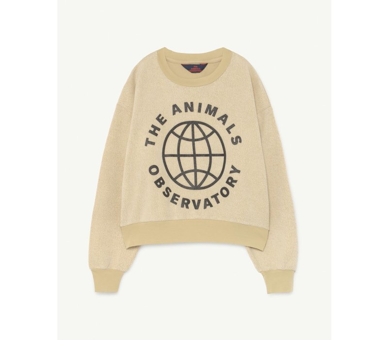 Bear Sweatshirt Yellow Planet