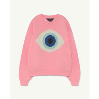Bear Sweatshirt Pink Eye