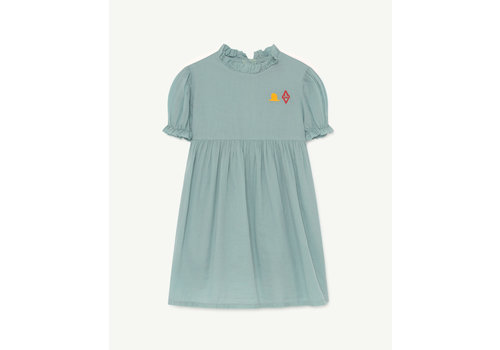The Animals Observatory Mouse Dress Blue Logo