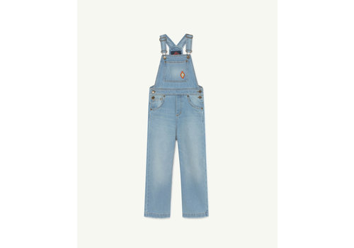The Animals Observatory Mule Dungaree Denim Logo