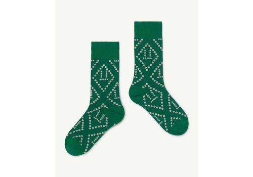 The Animals Observatory Skunk Socks Green