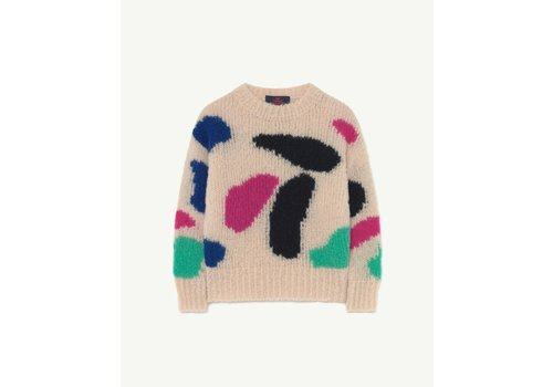 The Animals Observatory Arty Bull Sweater Beig
