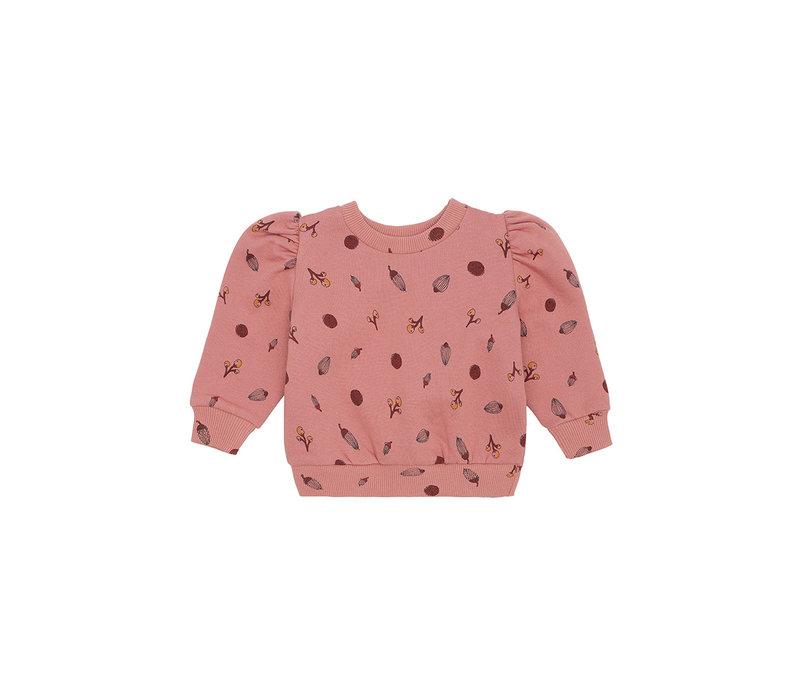 Baby Era Sweatshirt Rose Dawn, AOP Acorn Simple