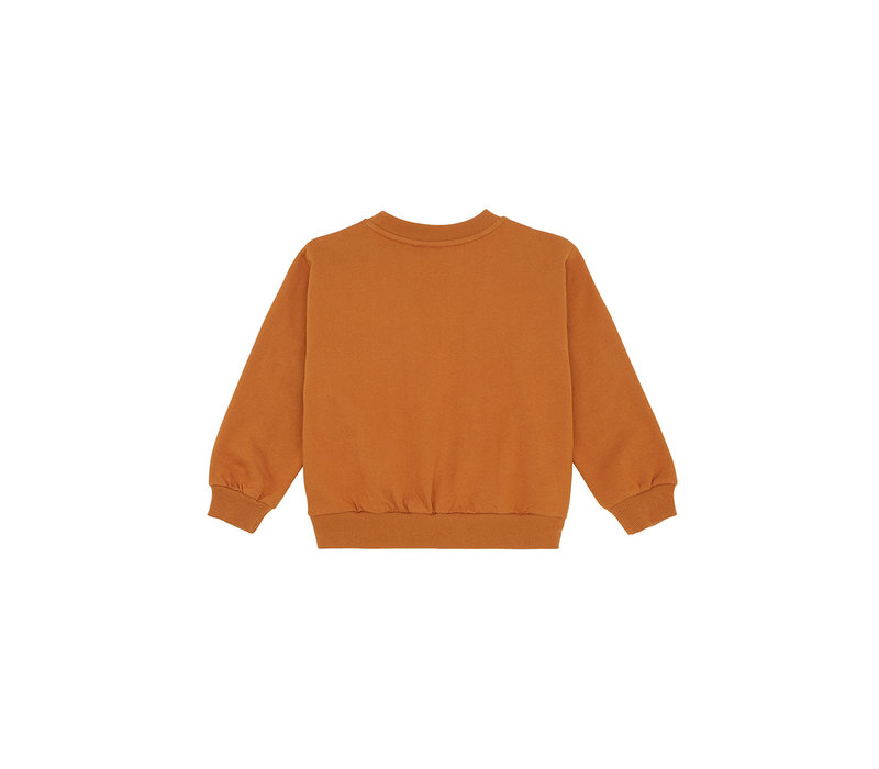 Garly Sweatshirt Pumpkin Spice, Bouquet emb