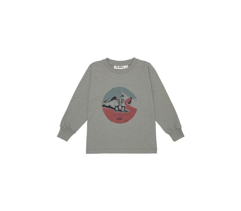 Benson T-shirt Vetiver, Adventure club
