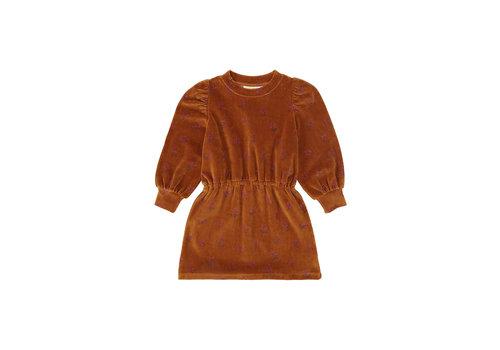 Soft Gallery Gina Dress Thai Curry, AOP Rosehibs
