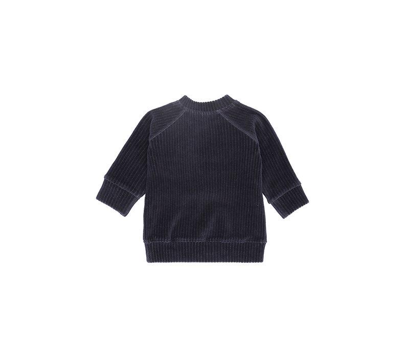 Alexi Sweatshirt Carbon, Badger emb