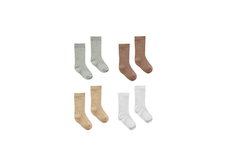 Baby Socks - 4 Pack Sg-Ca-Hn-Vr