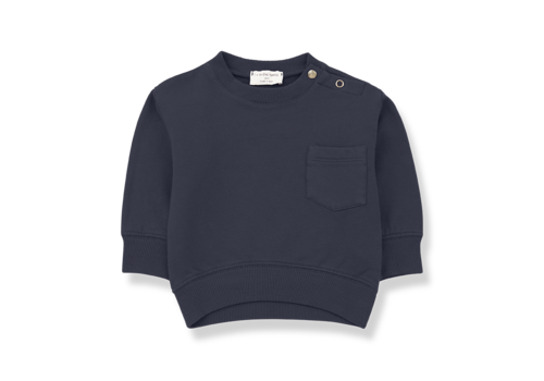1 + More in the Family Salardu sweatshirt Blue Notte