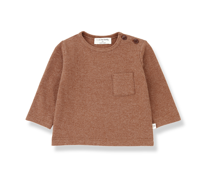 Aneto t-shirt Toffee