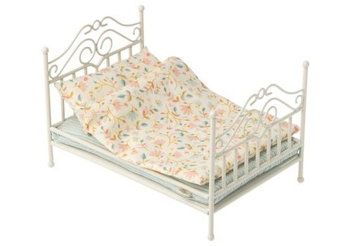 Maileg Vintage Bed, Micro - Soft Sand
